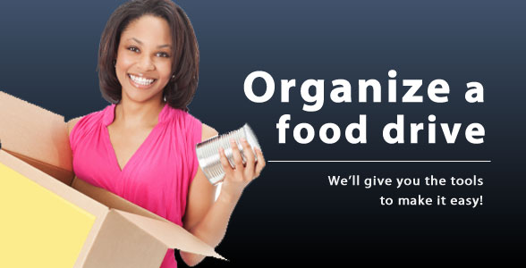Organize a Food Drive and Earn 5 Hours of Community Service!